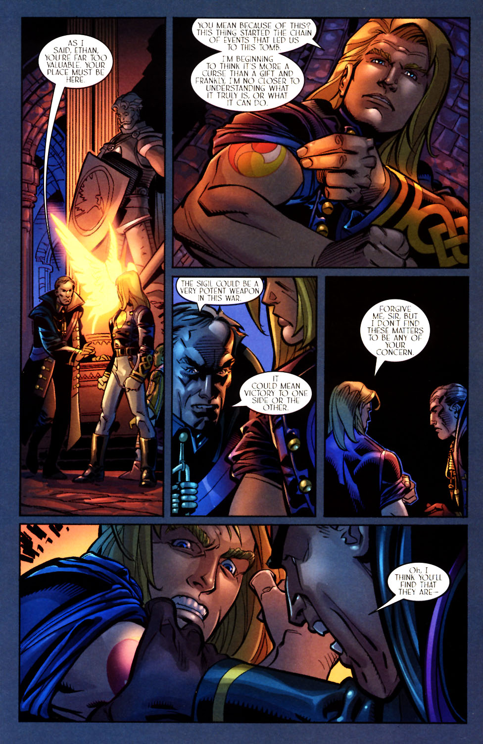 Read online Scion comic -  Issue #7 - 16