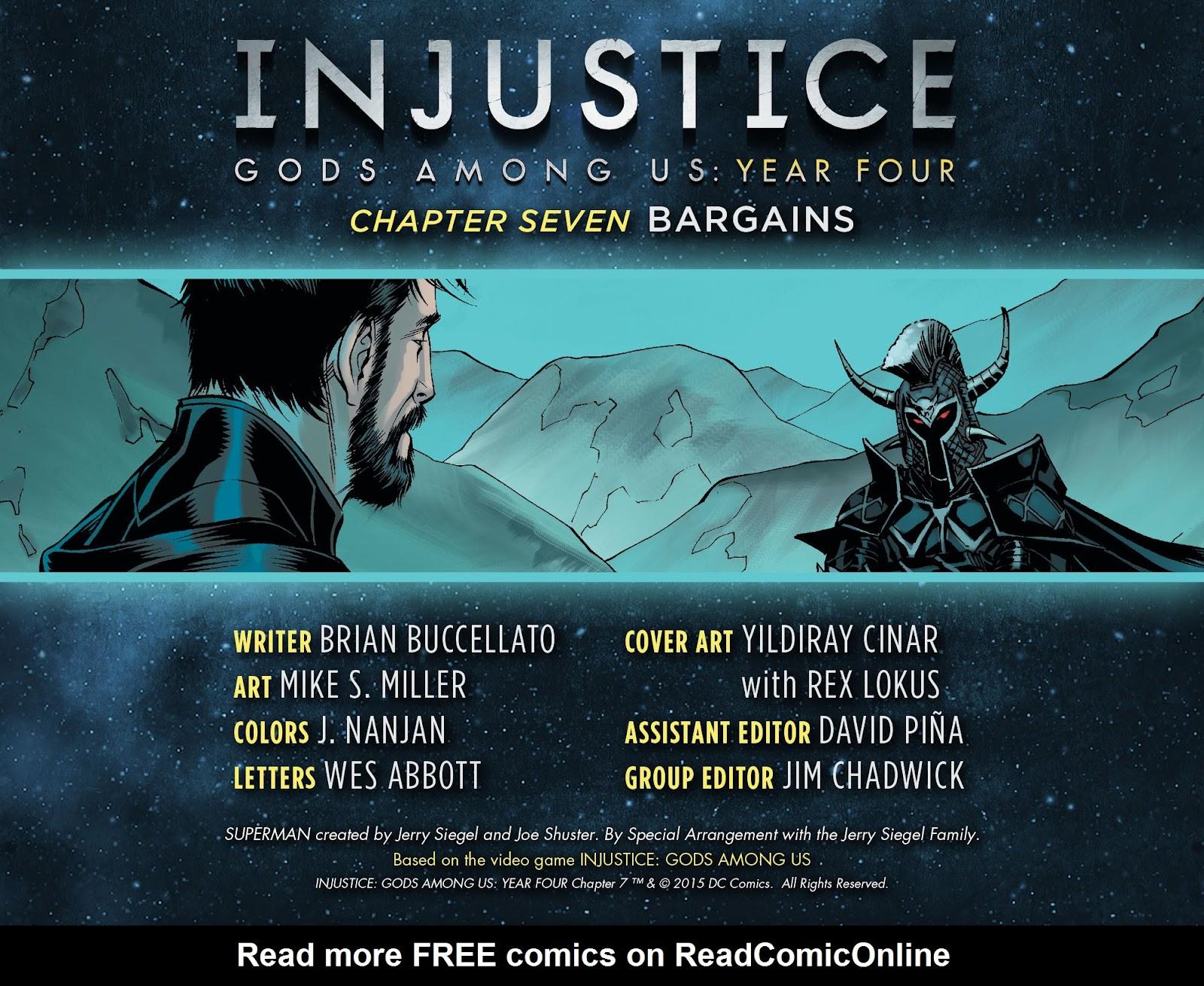 Injustice: Gods Among Us Year Four Issue #7 #8 - English 3