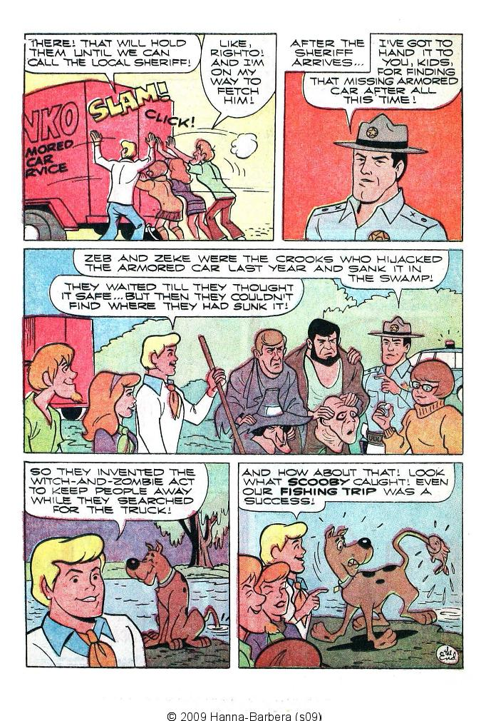 Read online Scooby-Doo... Where Are You! (1970) comic -  Issue #5 - 16