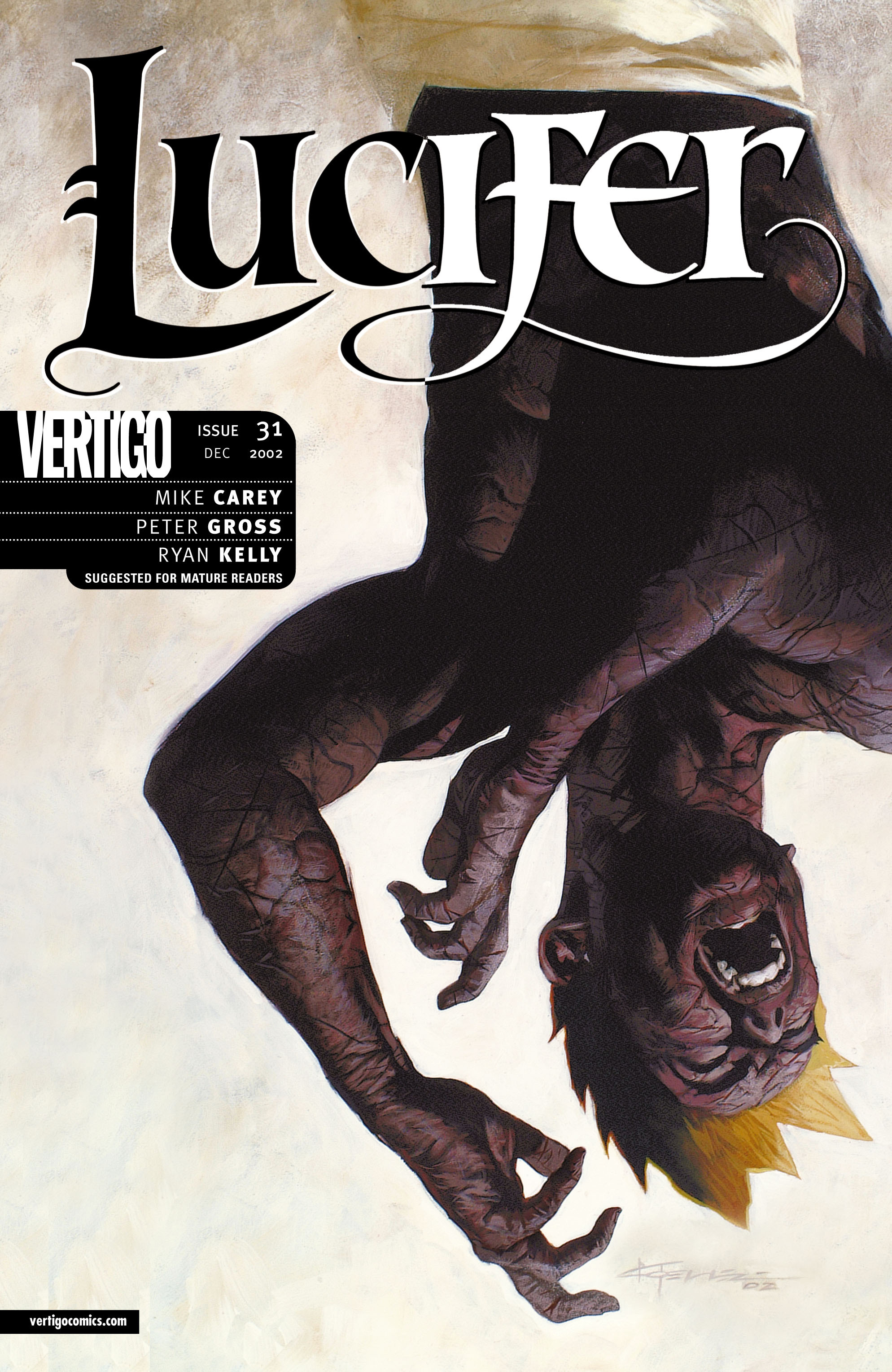 Lucifer (2000) issue 31 - Page 1