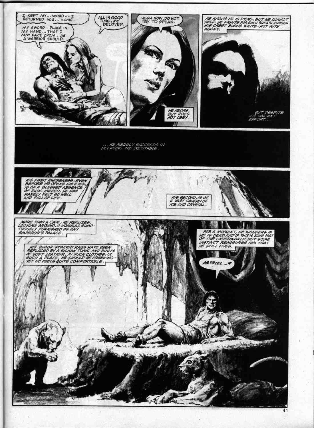 The Savage Sword Of Conan Issue #74 #75 - English 40