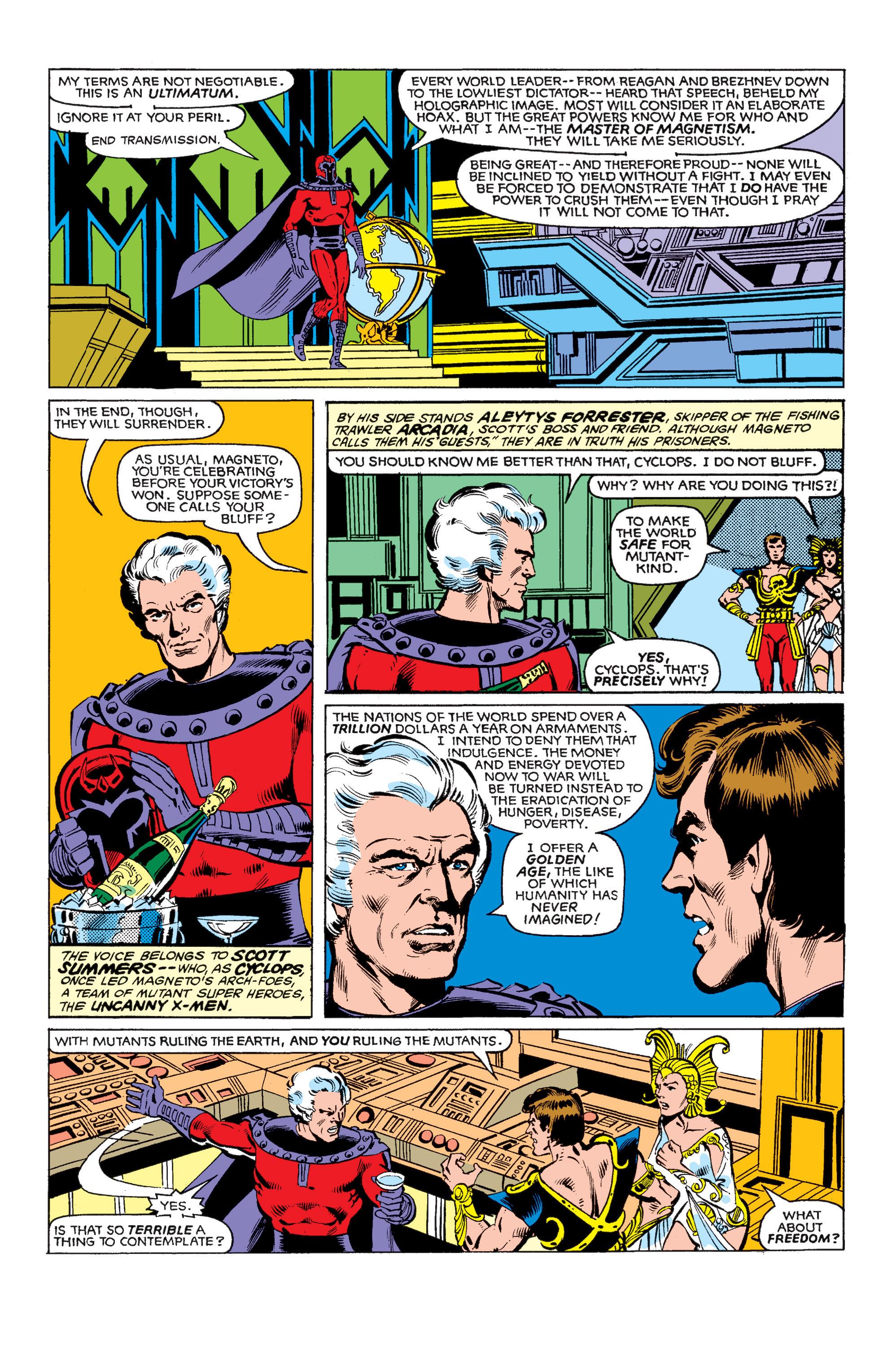 Uncanny X-Men (1963) 150 Page 3