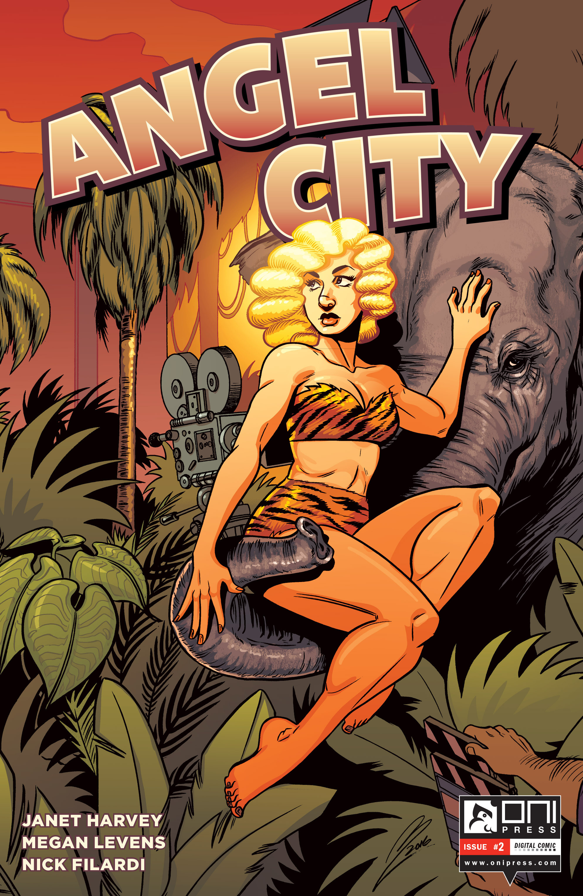 Read online Angel City comic -  Issue #2 - 1