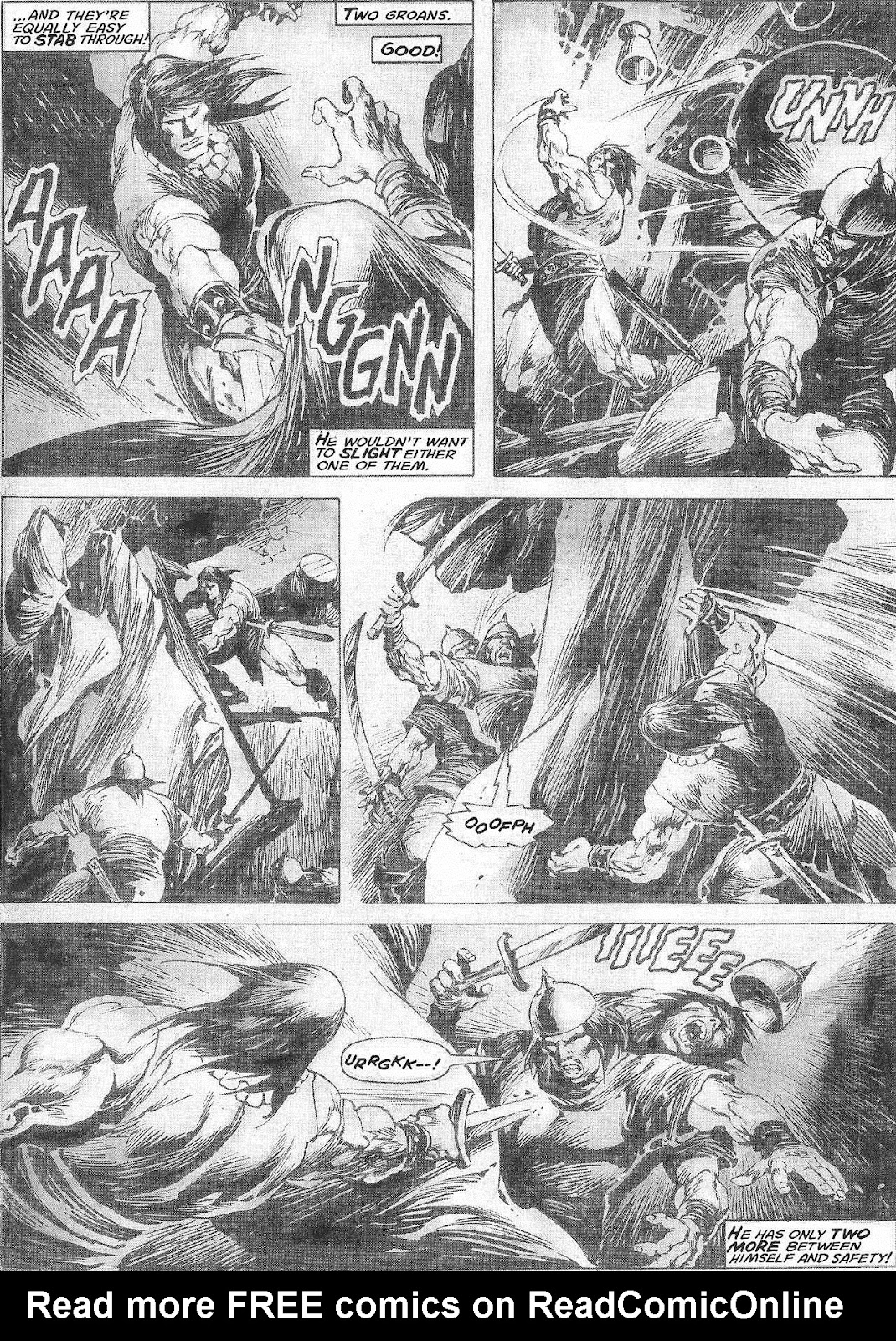 The Savage Sword Of Conan Issue #209 #210 - English 33