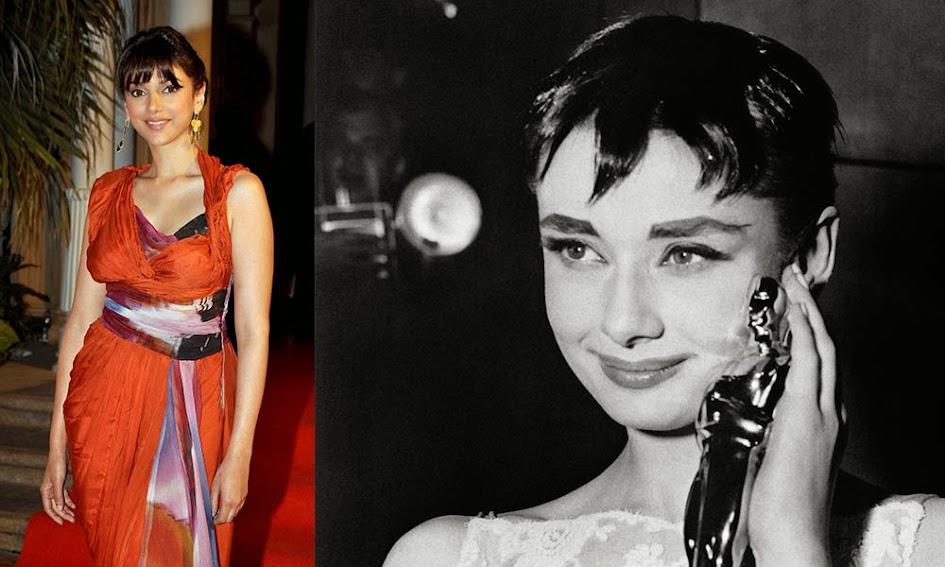 Aditi Rao Hydari and Audrey Hepburn