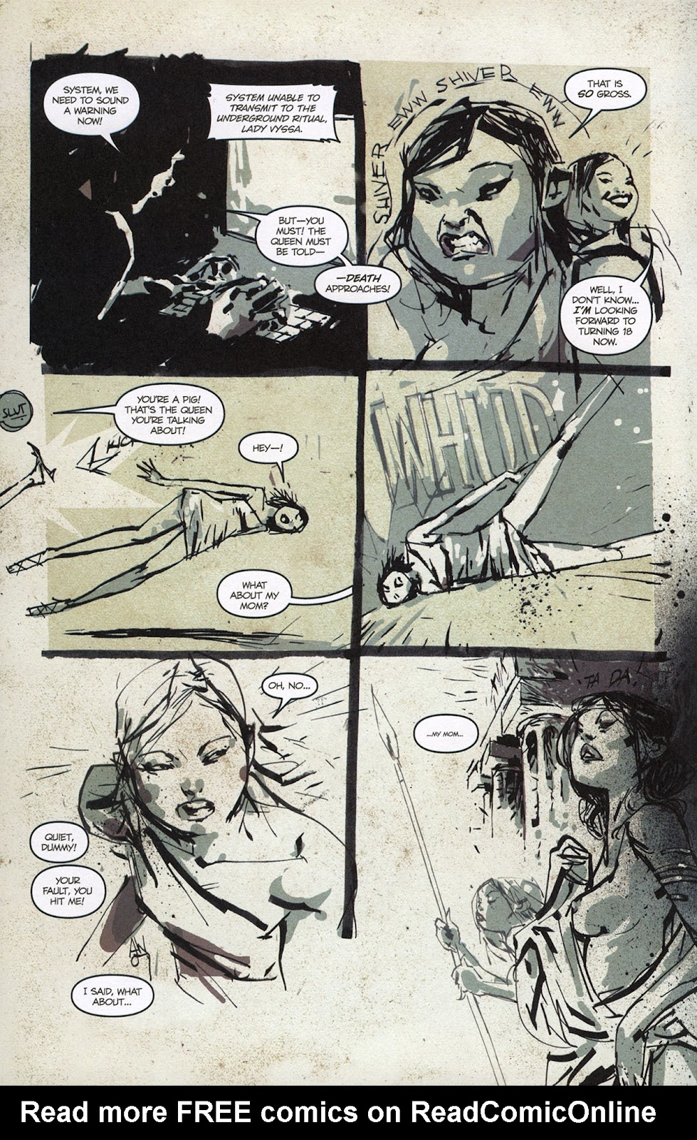 Zombies vs. Robots vs. Amazons Issue #1 Page 9