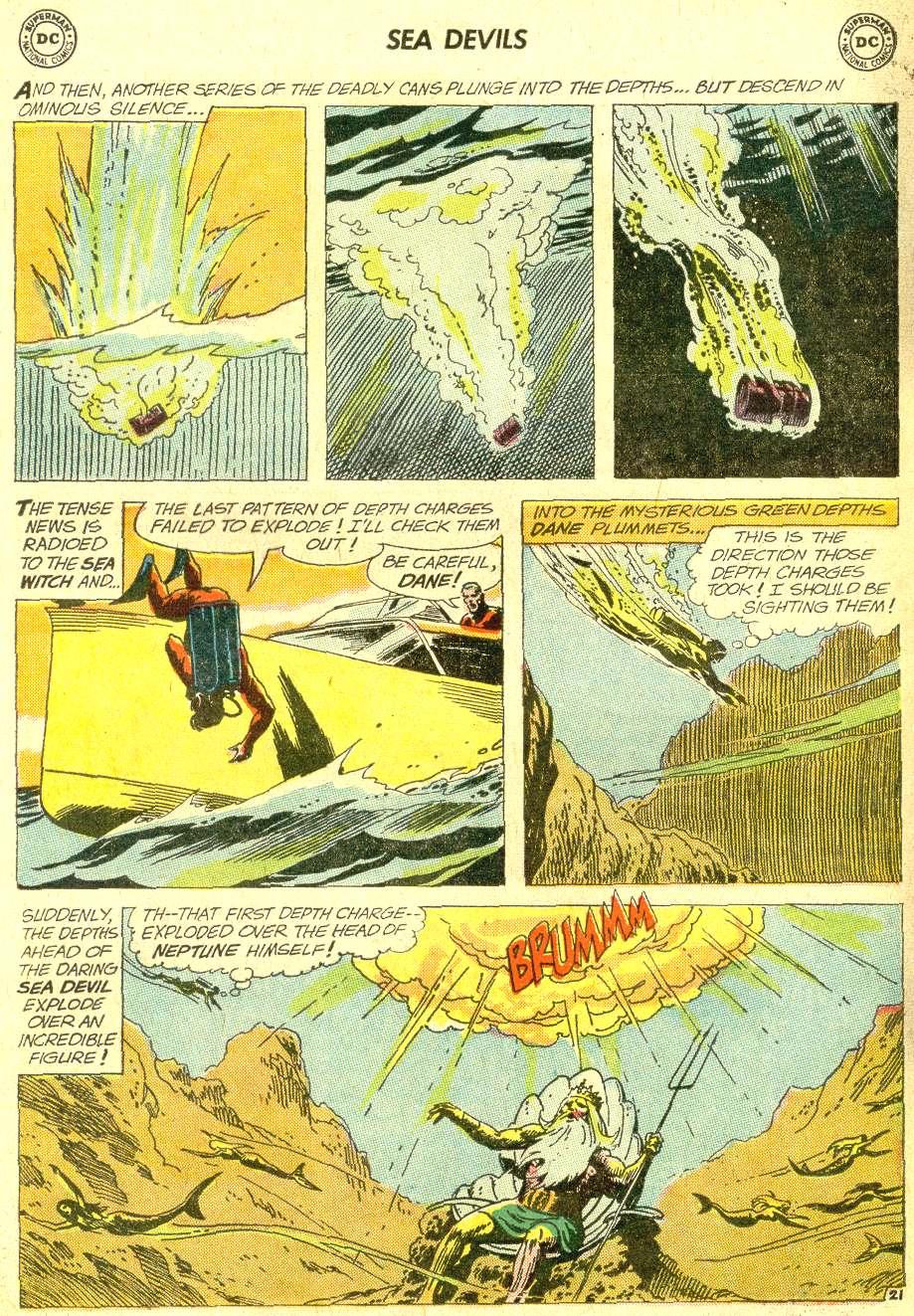 Read online Sea Devils comic -  Issue #10 - 29