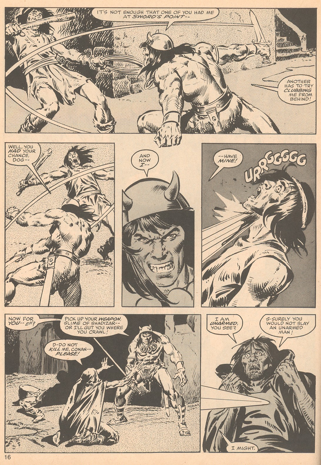 The Savage Sword Of Conan Issue #56 #57 - English 16
