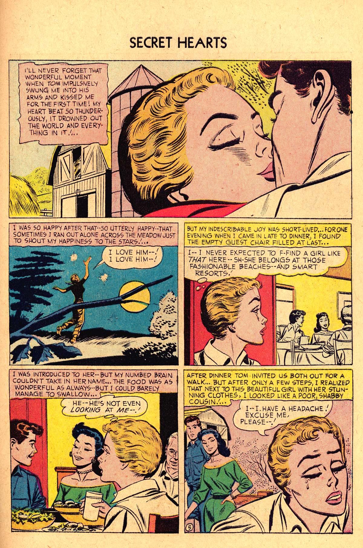 Read online Secret Hearts comic -  Issue #36 - 31