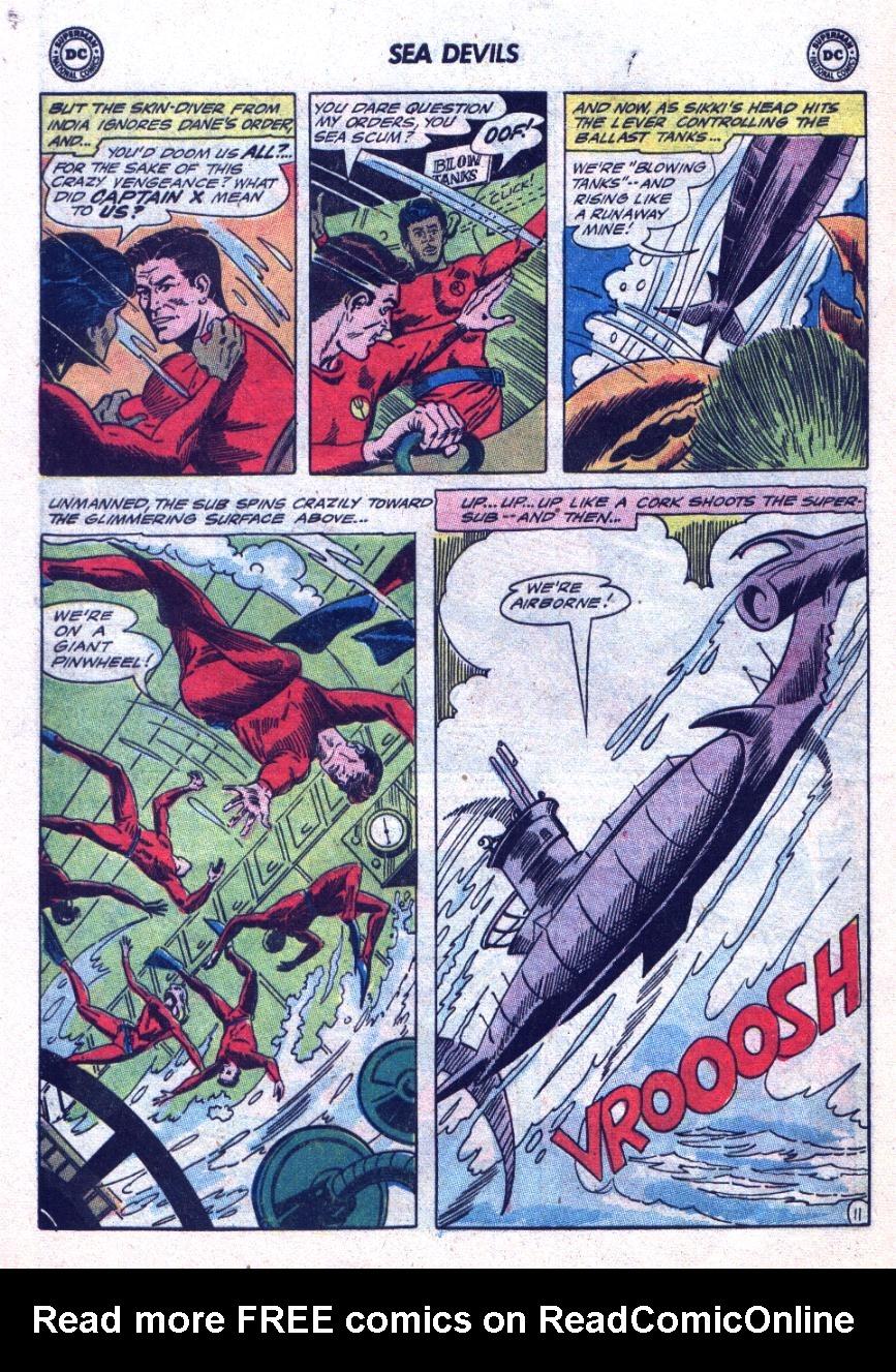 Read online Sea Devils comic -  Issue #24 - 17