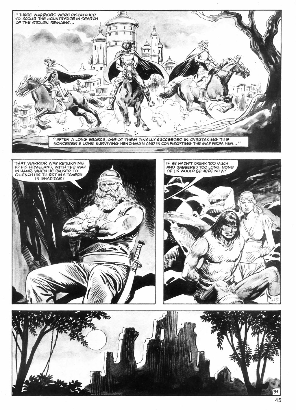 The Savage Sword Of Conan Issue #98 #99 - English 45