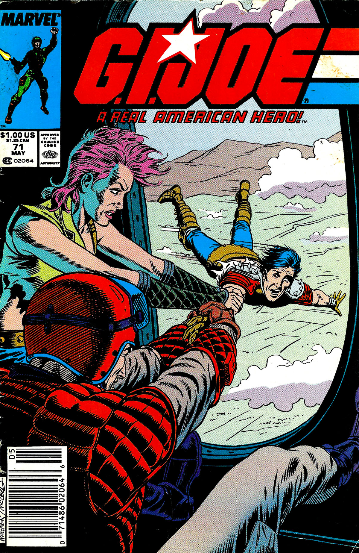 G.I. Joe: A Real American Hero 71 Page 1