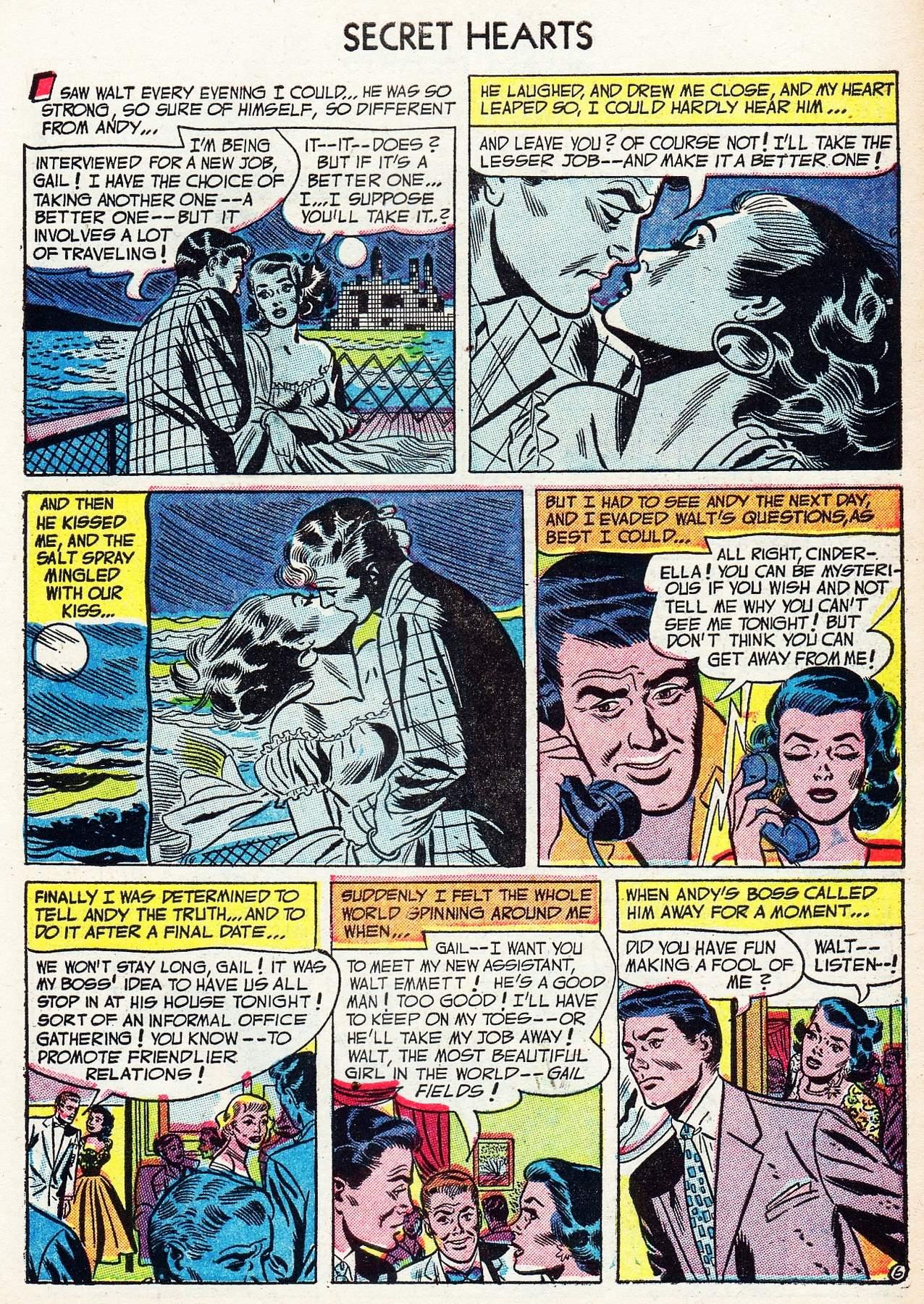 Read online Secret Hearts comic -  Issue #16 - 31
