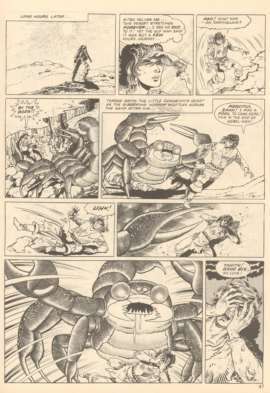 The Savage Sword Of Conan Issue #67 #68 - English 47