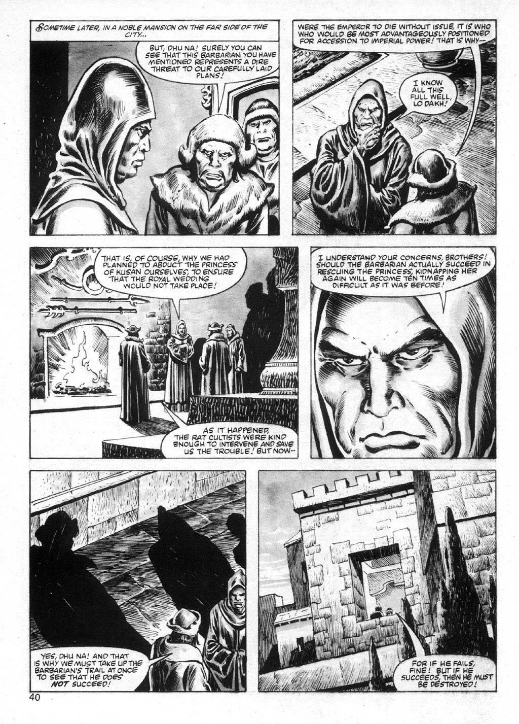 The Savage Sword Of Conan Issue #95 #96 - English 40