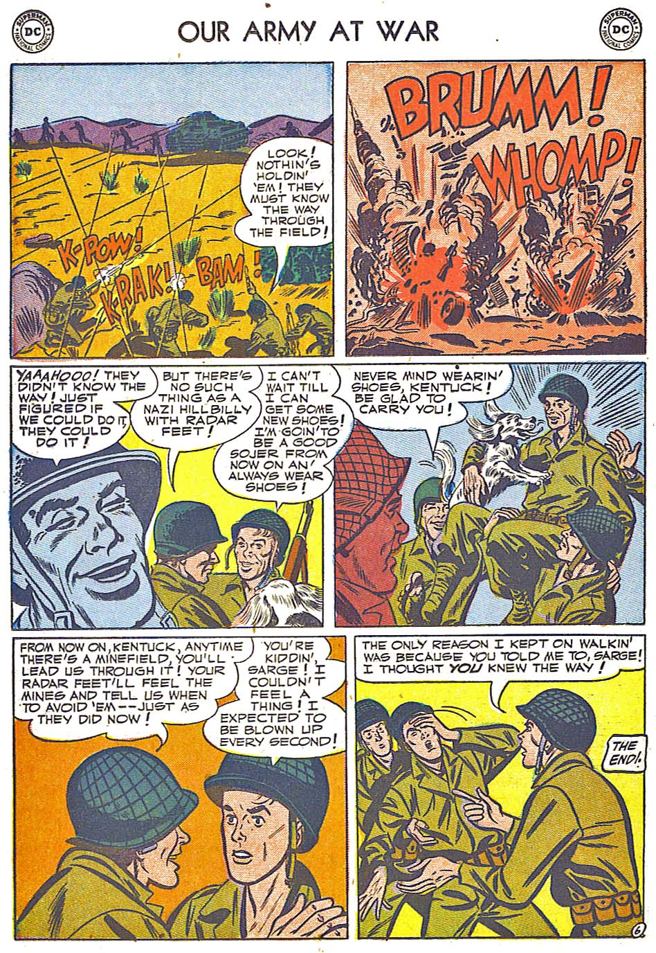 Our Army at War (1952) #1 #301 - English 26