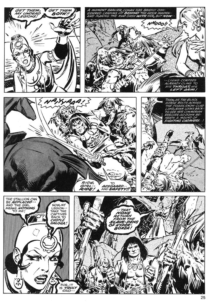 The Savage Sword Of Conan Issue #39 #40 - English 25