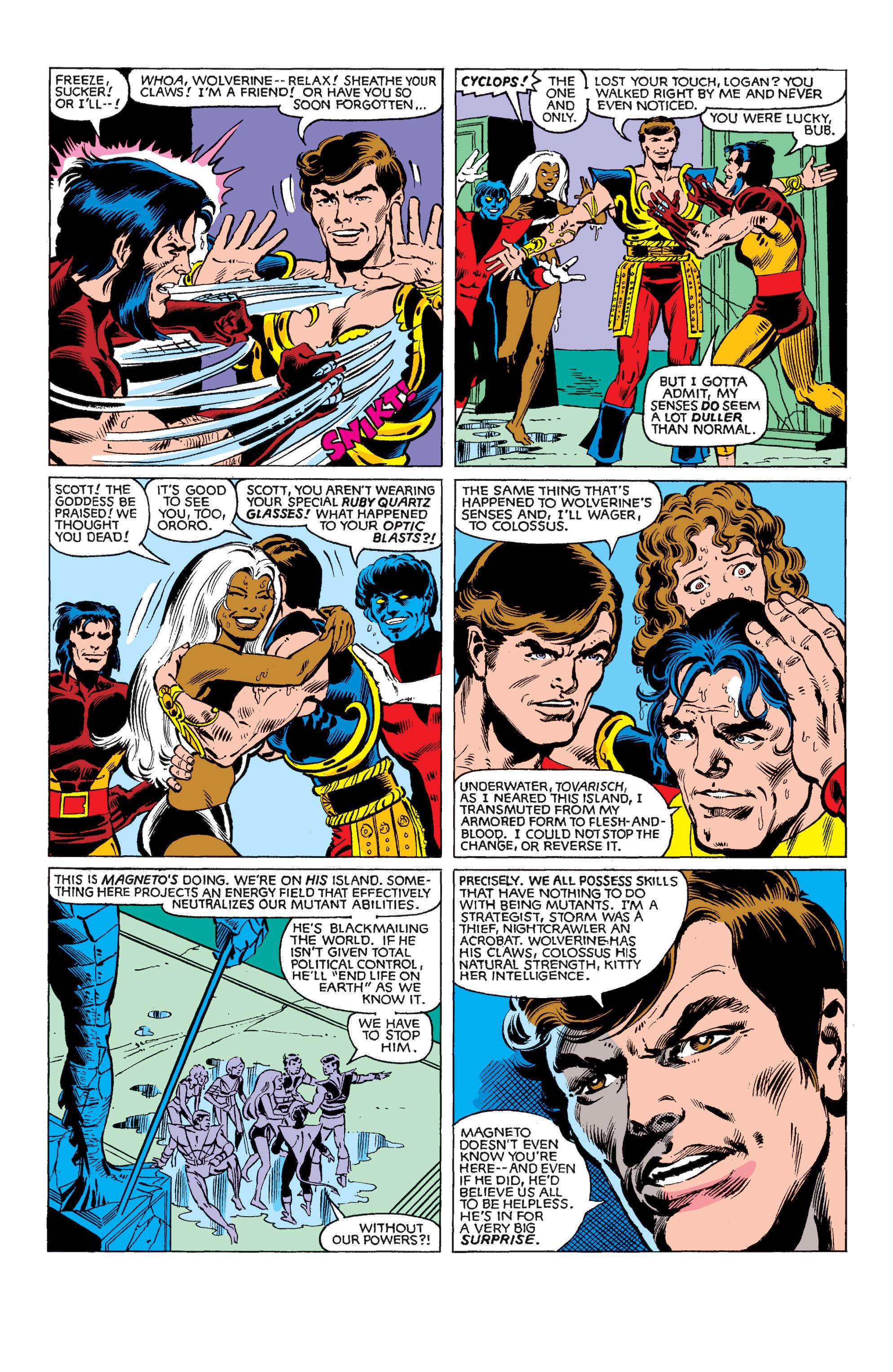 Uncanny X-Men (1963) 150 Page 16