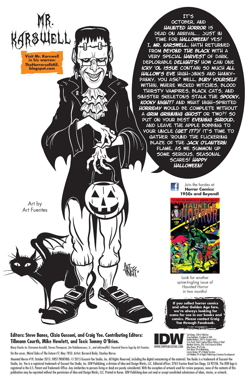 Haunted Horror Issue #19 #19 - English 2