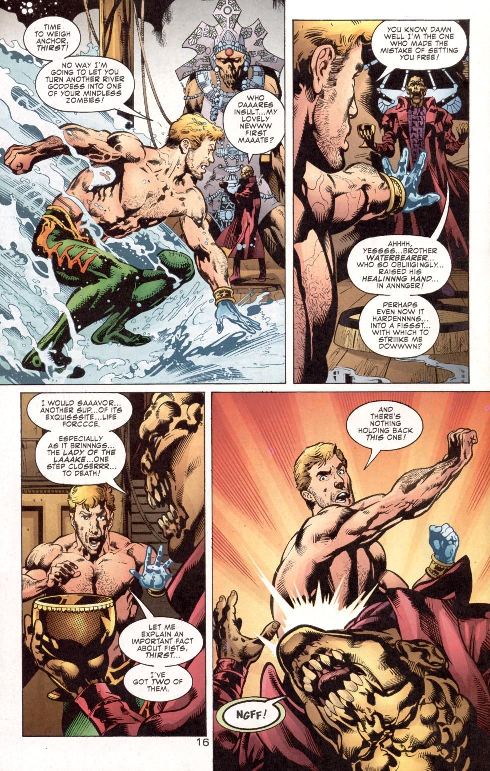 Aquaman (2003) Issue #7 #7 - English 18