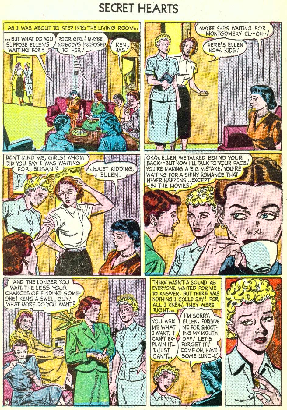 Read online Secret Hearts comic -  Issue #22 - 12
