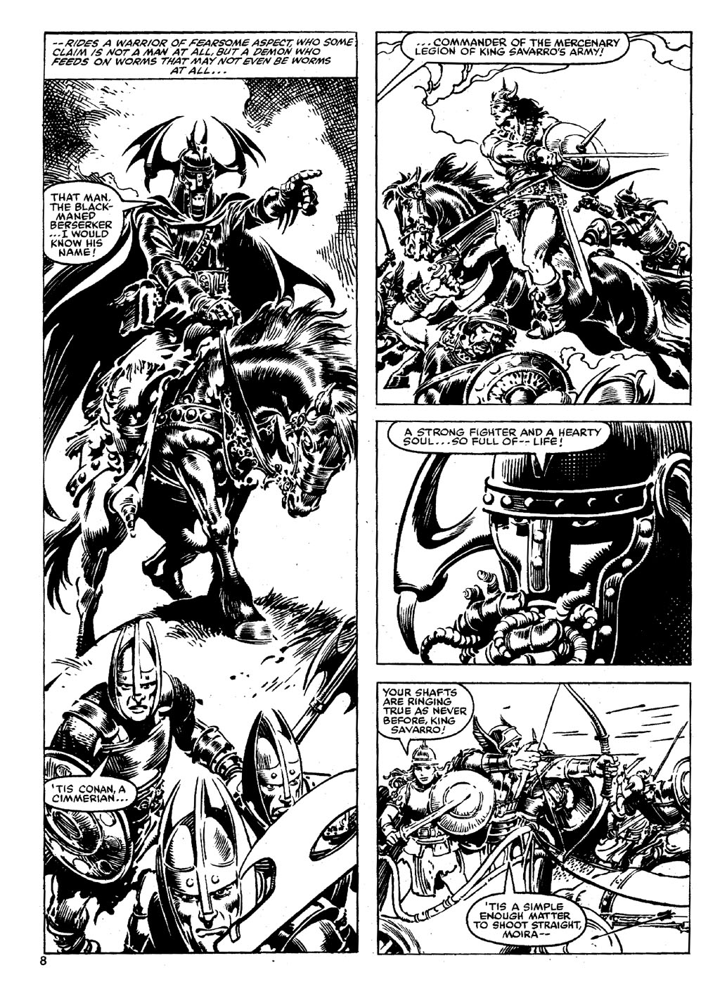 The Savage Sword Of Conan Issue #90 #91 - English 7