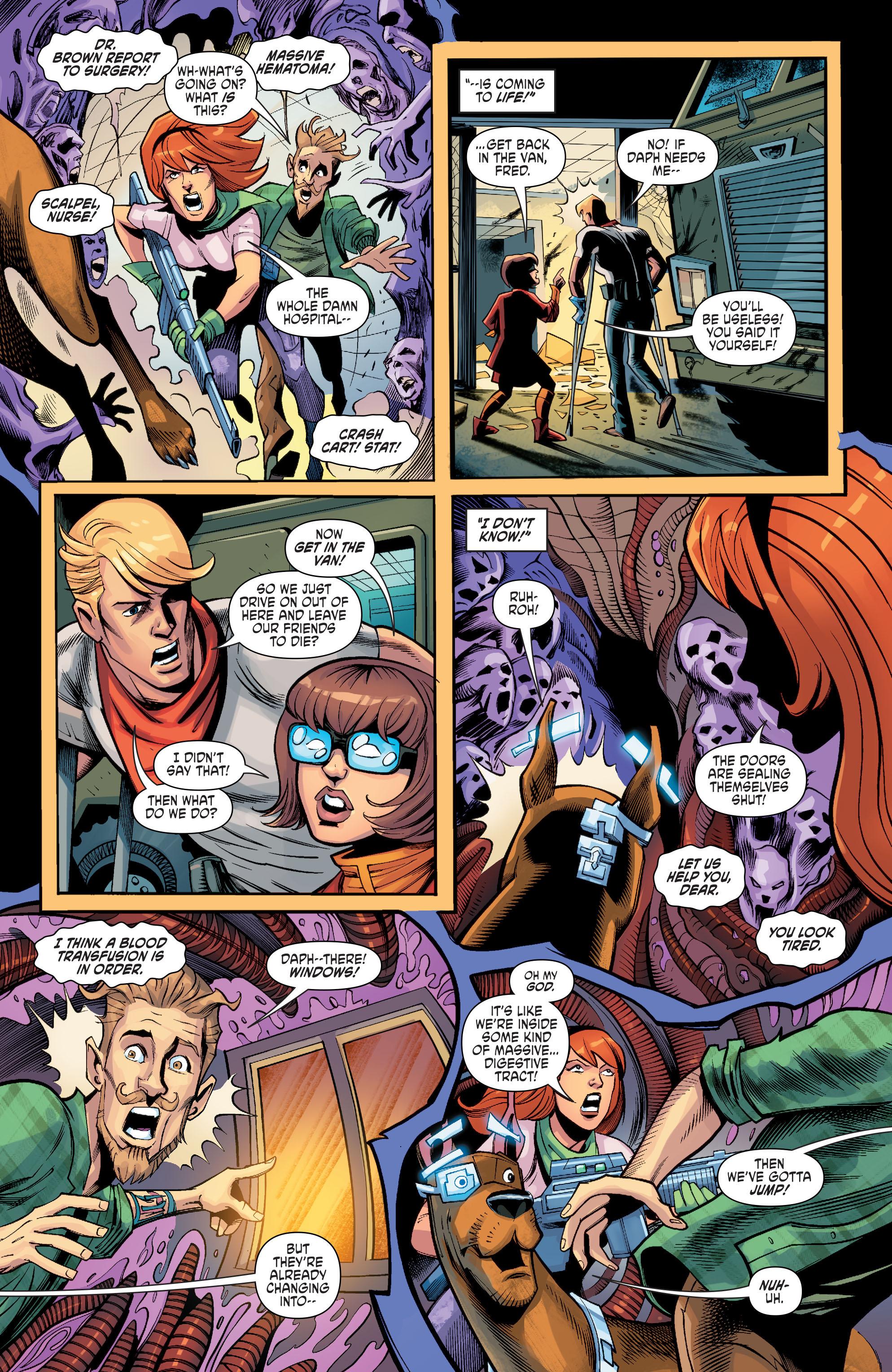 Read online Scooby Apocalypse comic -  Issue #8 - 21