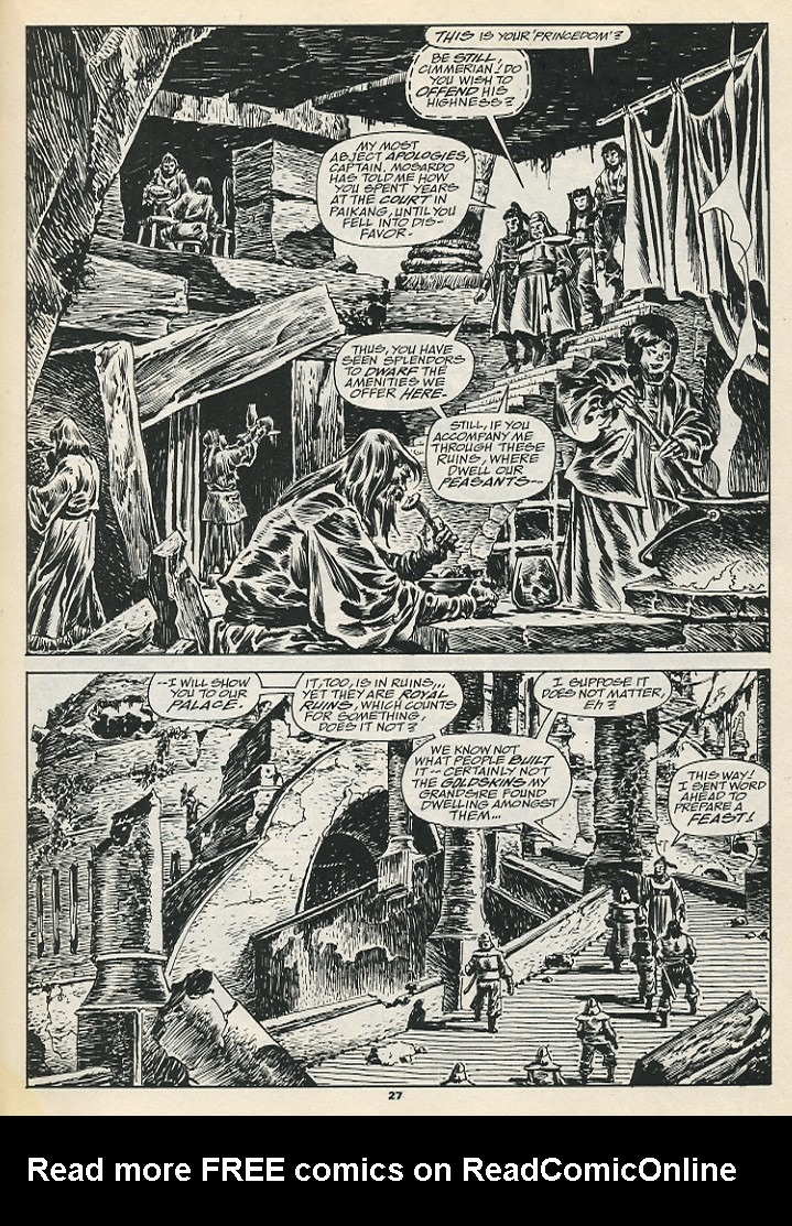 The Savage Sword Of Conan Issue #192 #193 - English 29