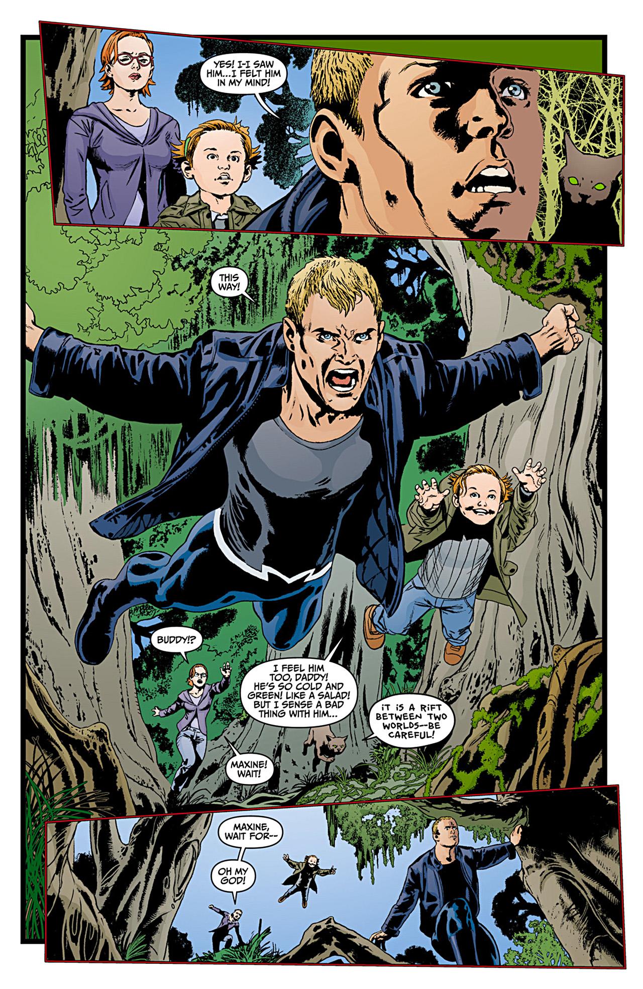 Read online Animal Man (2011) comic -  Issue #12 - 7