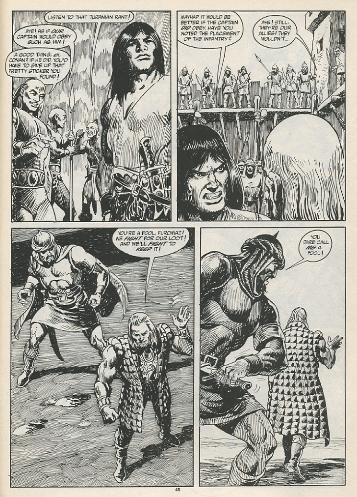 The Savage Sword Of Conan Issue #189 #190 - English 47
