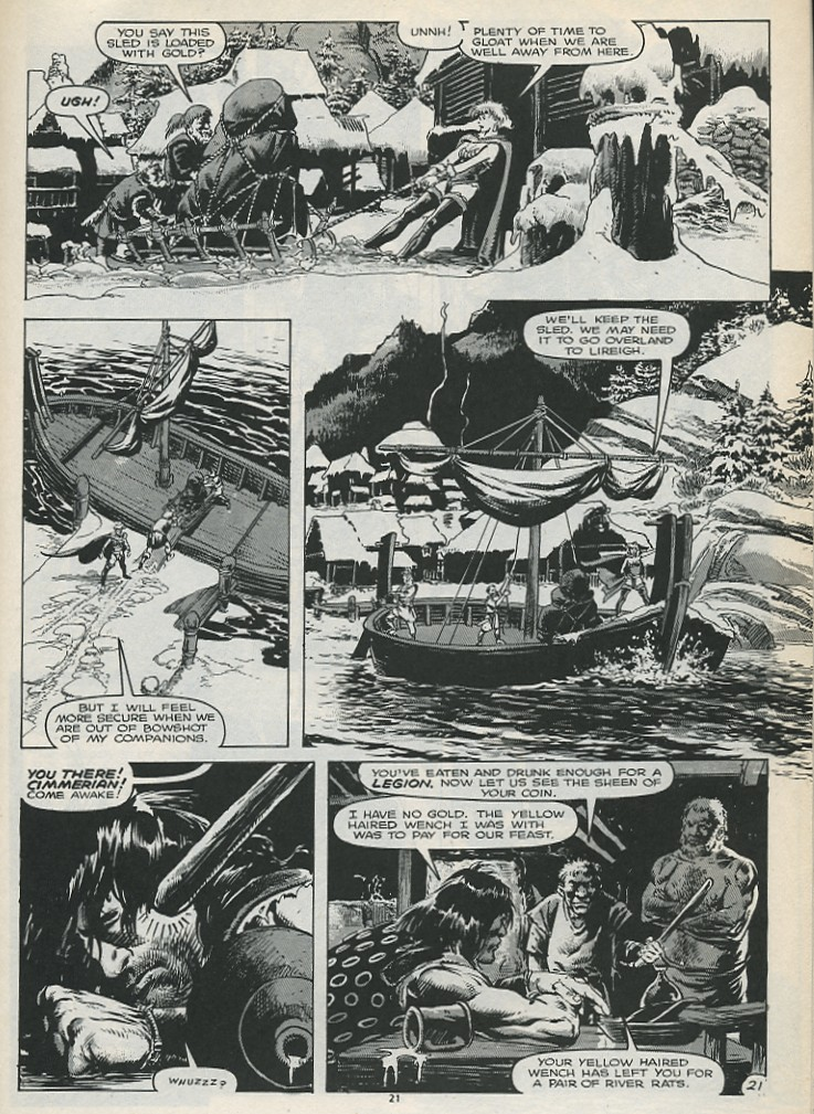 The Savage Sword Of Conan Issue #179 #180 - English 23