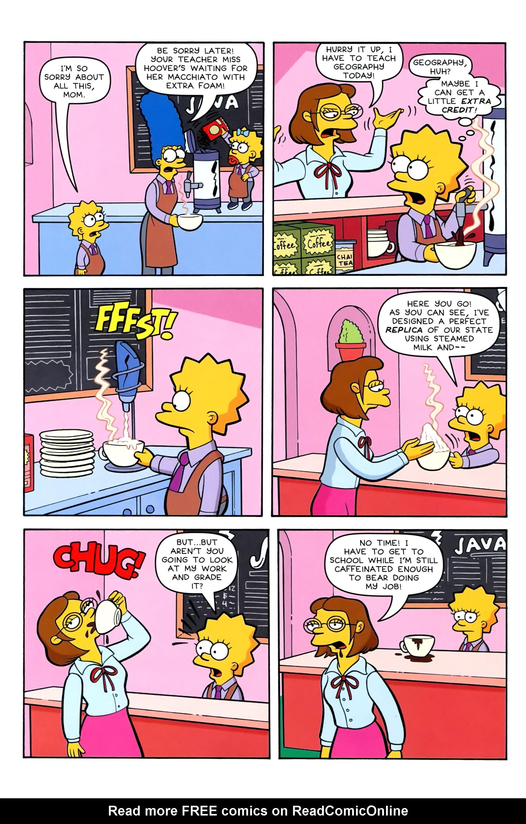 Read online Simpsons Comics comic -  Issue #239 - 9