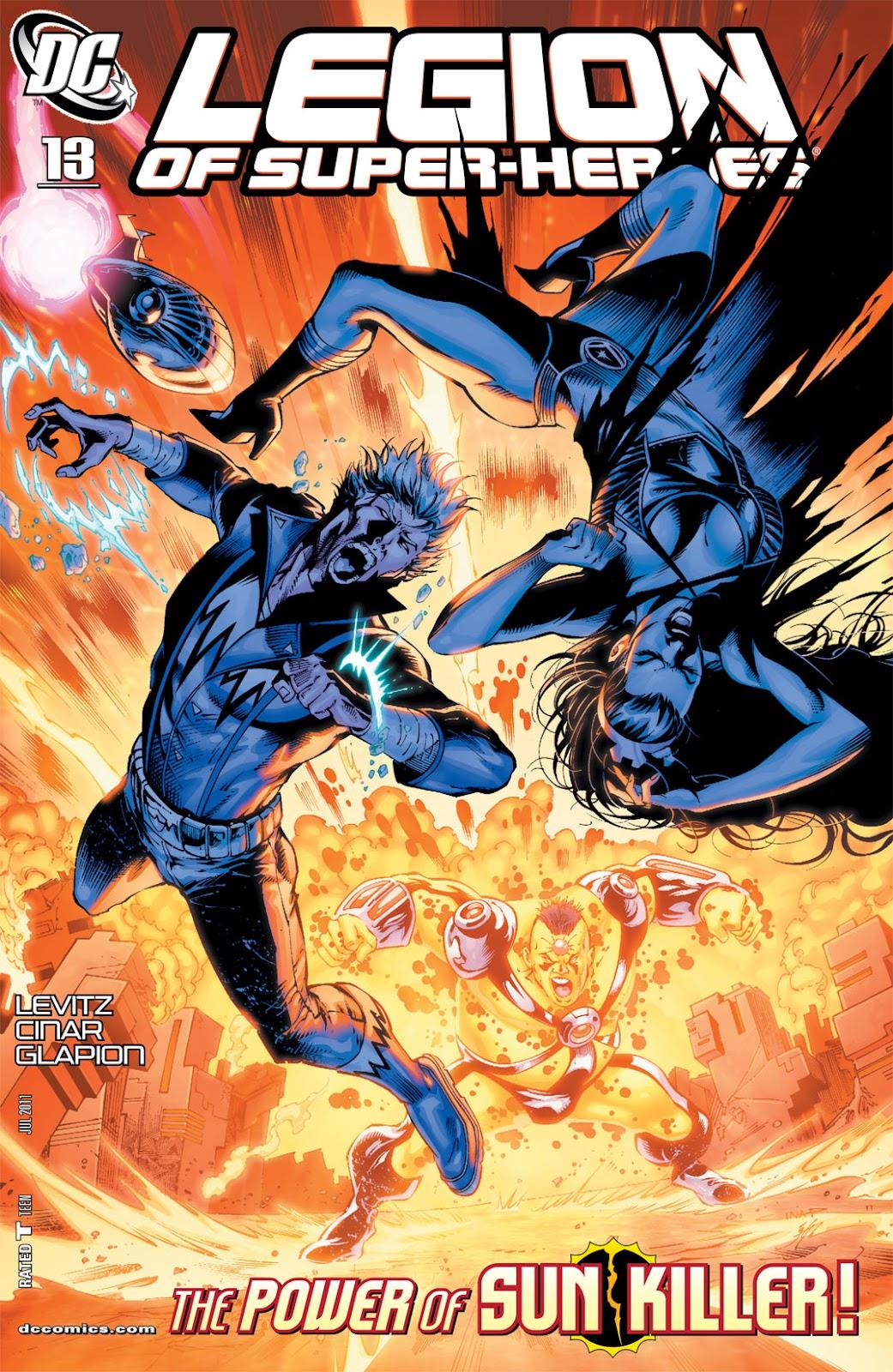 Legion of Super-Heroes (2010) Issue #13 #14 - English 1