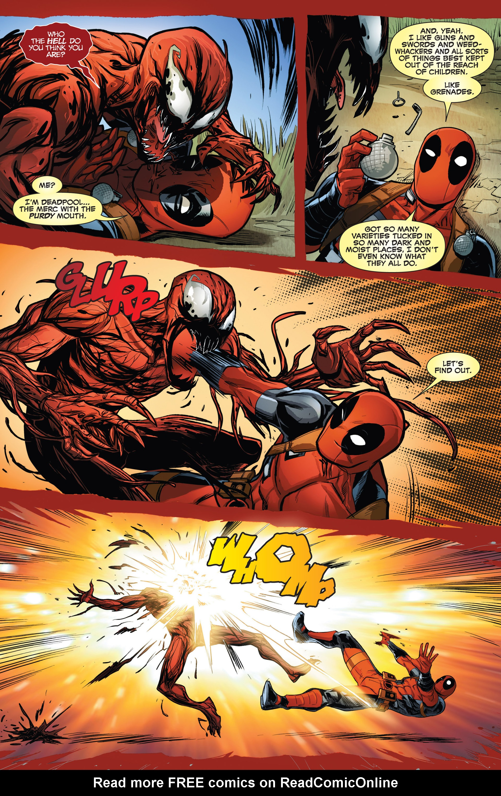 Read online Deadpool vs. Carnage comic -  Issue #1 - 20