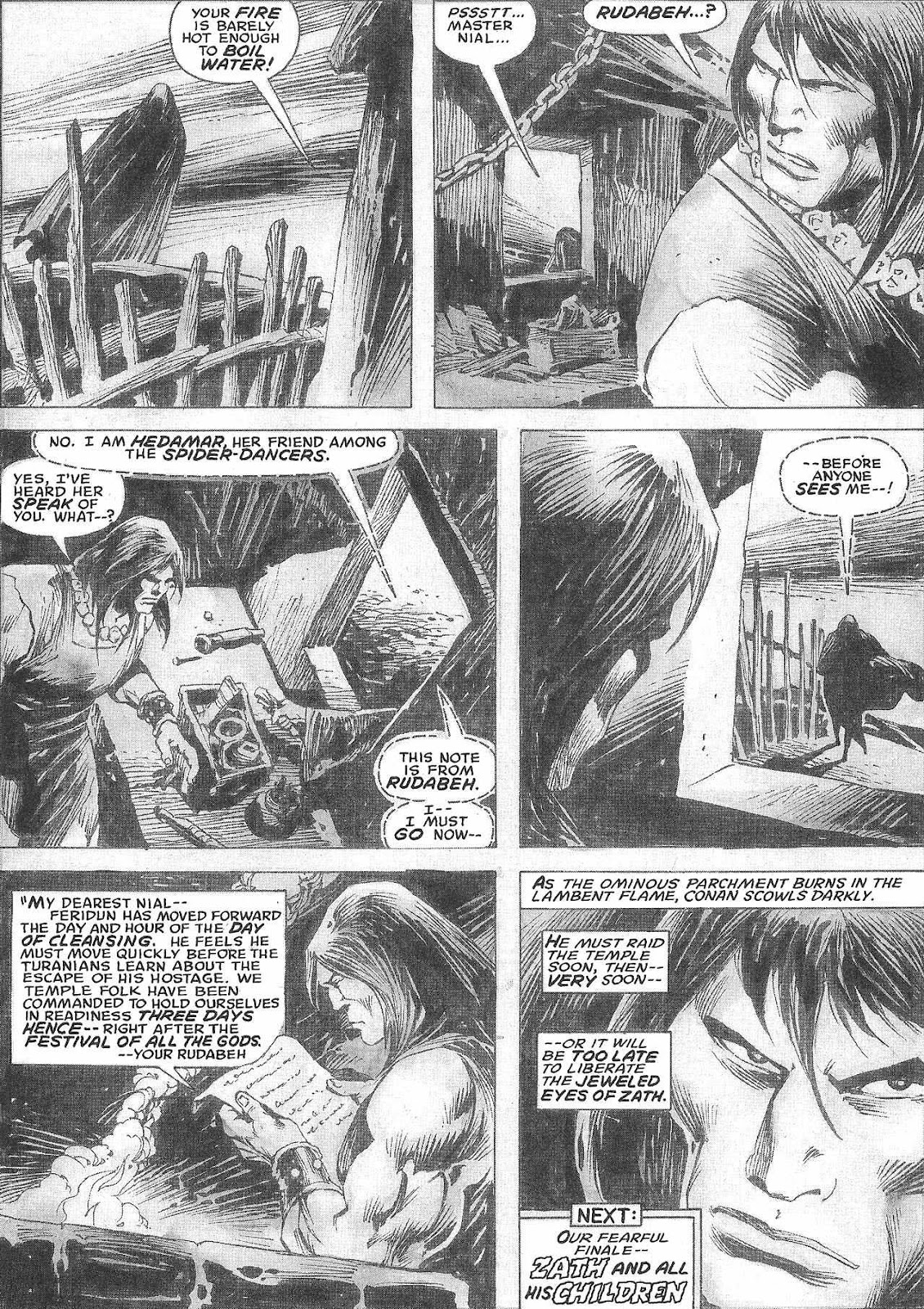 The Savage Sword Of Conan Issue #209 #210 - English 47