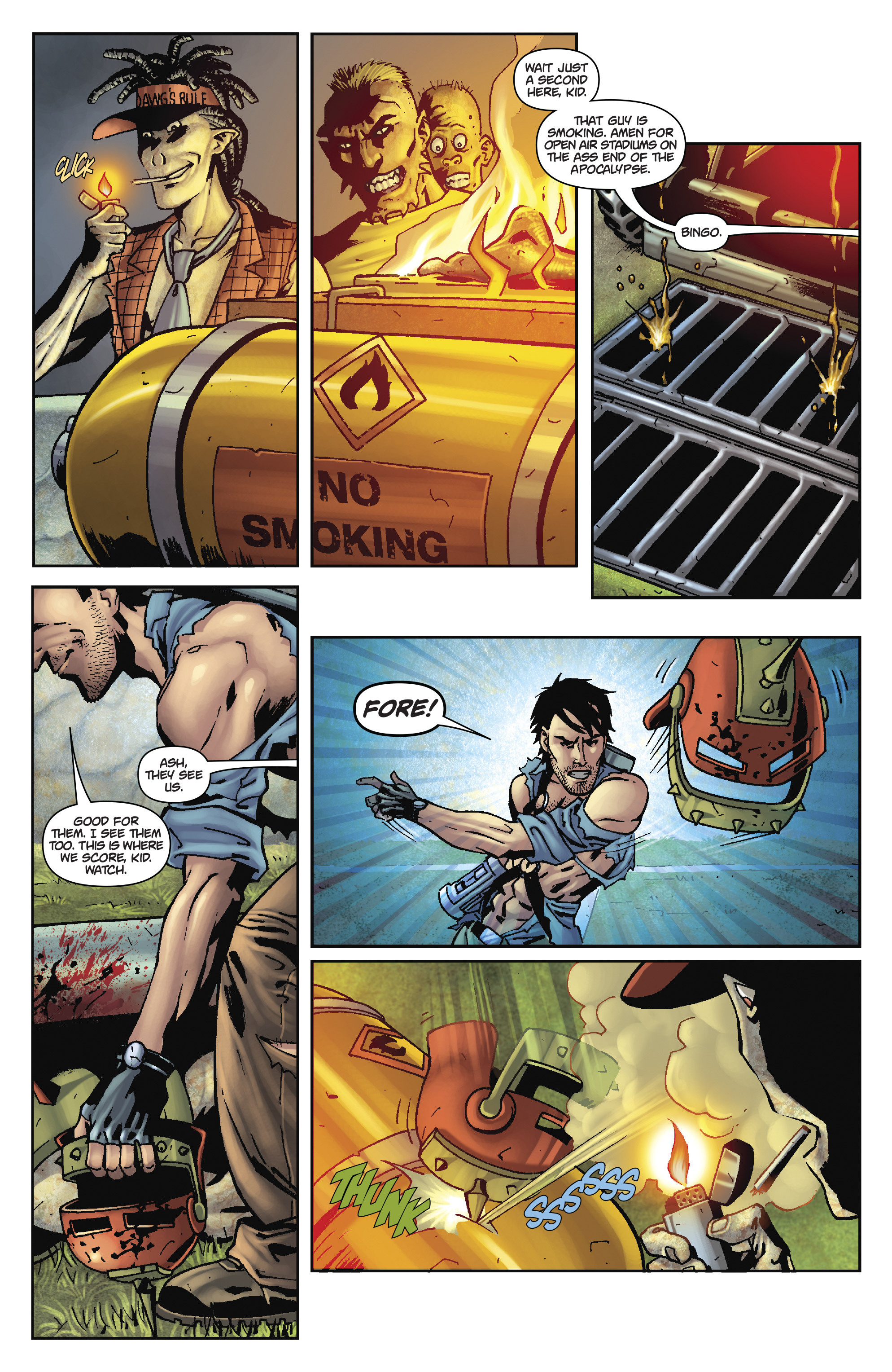 Army of Darkness: The Long Road Home TPB Page 65