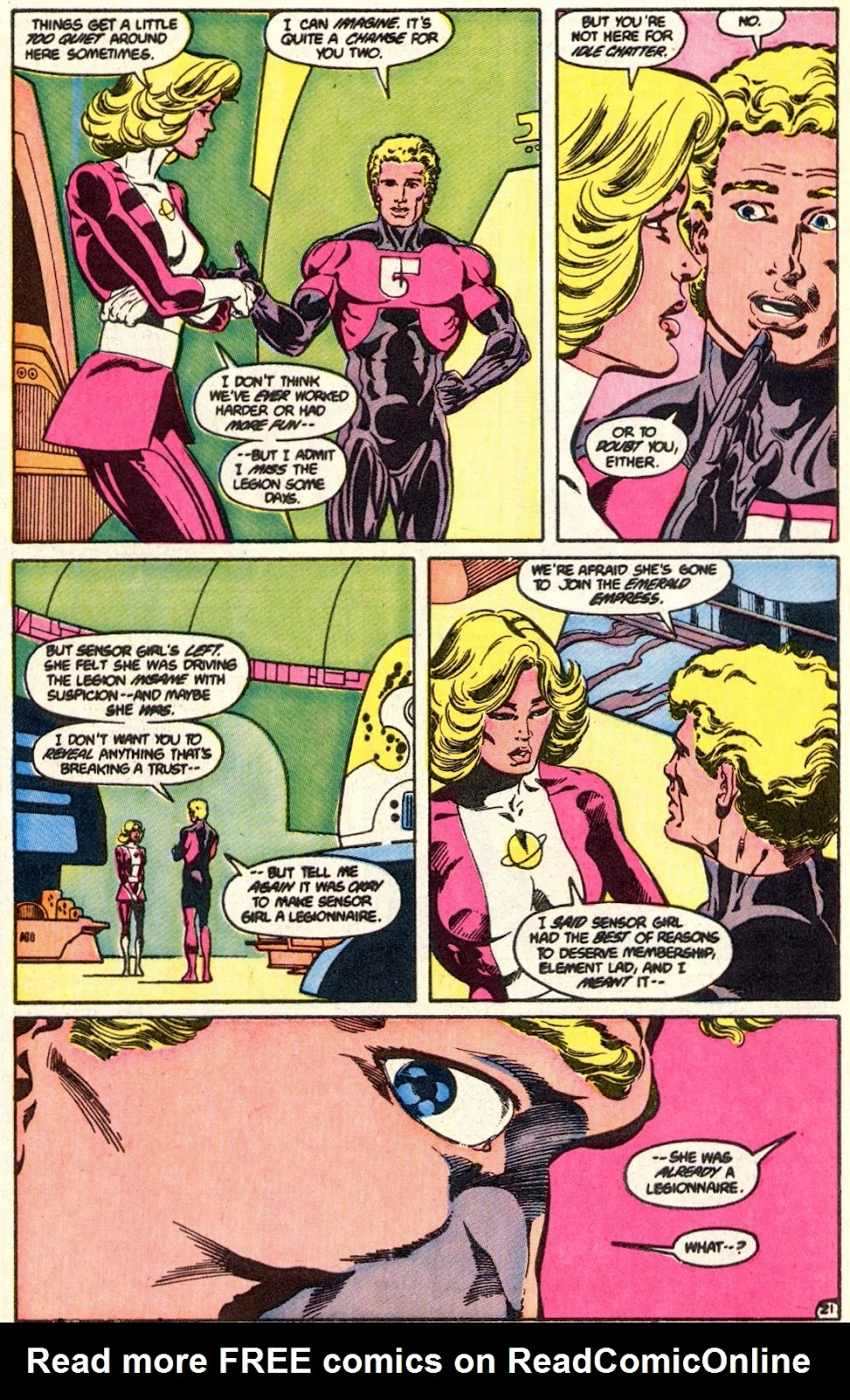 Tales of the Legion Issue #350 #37 - English 22