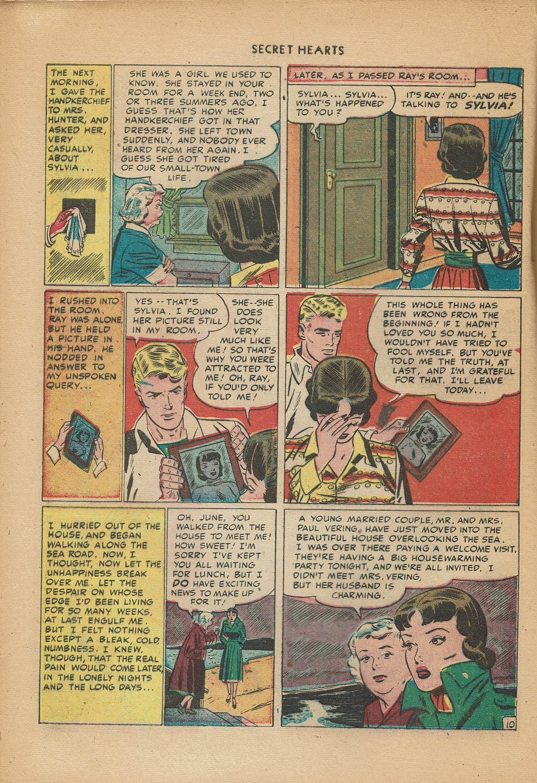 Read online Secret Hearts comic -  Issue #2 - 20