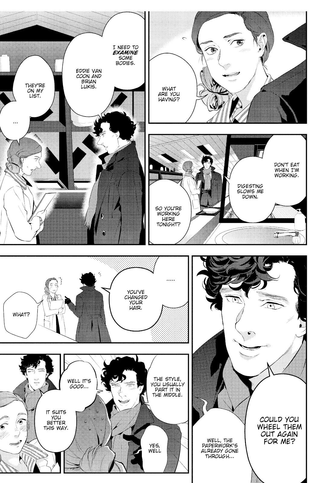 Sherlock: The Blind Banker Issue #4 #4 - English 34