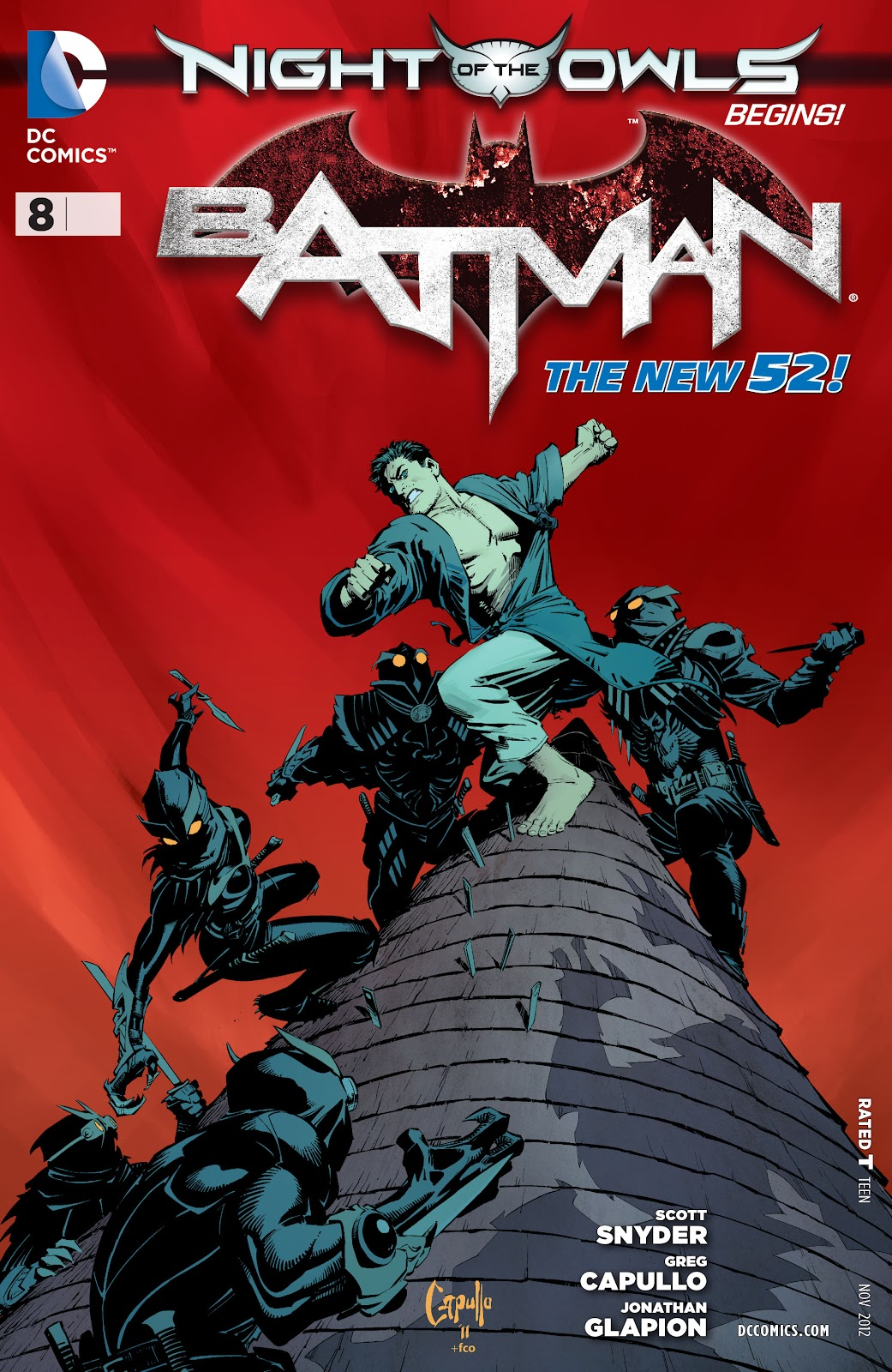 Batman (2011) Issue #8 #23 - English 31