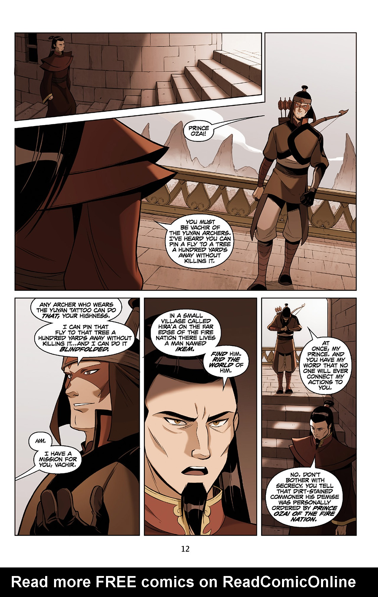 Read online Nickelodeon Avatar: The Last Airbender - The Search comic -  Issue # Part 2 - 13