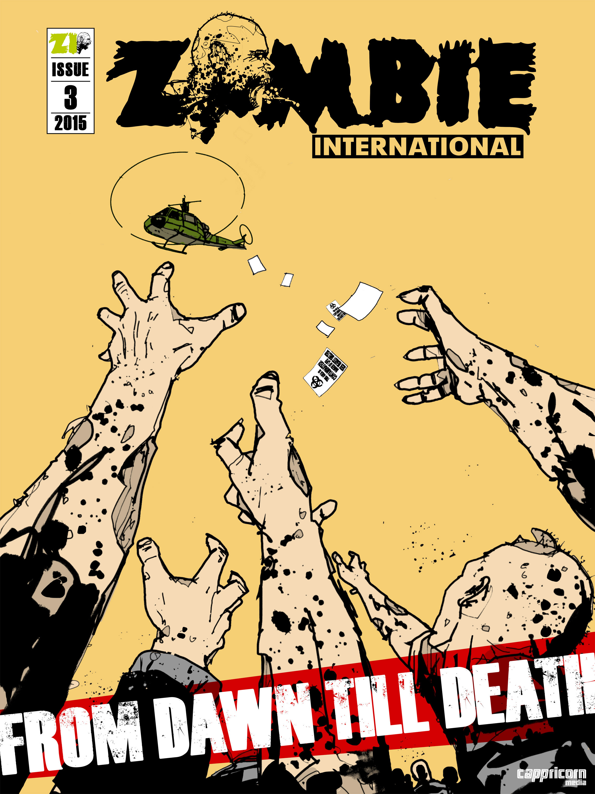 Zombie International issue 3 - Page 1
