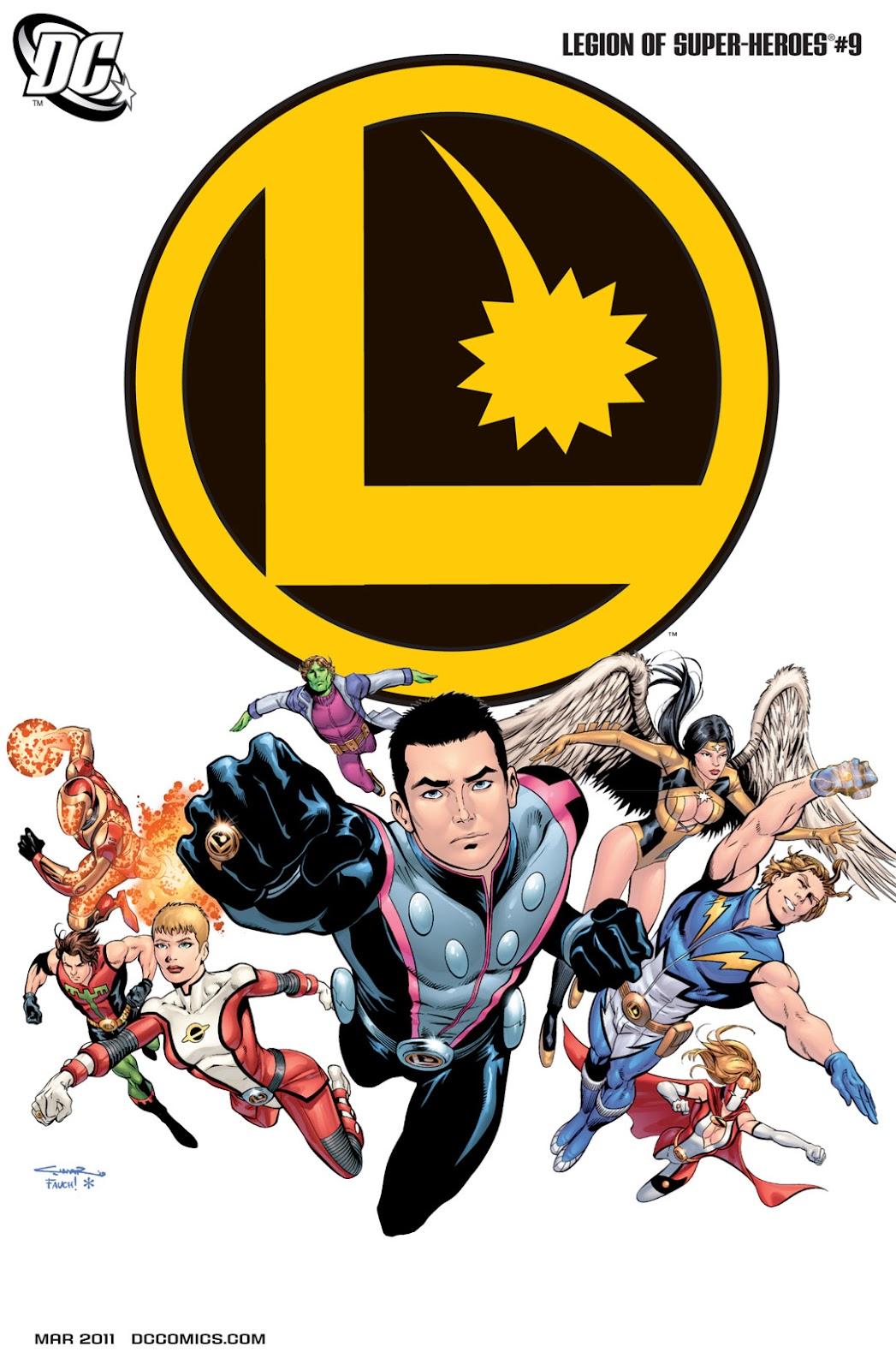 Legion of Super-Heroes (2010) Issue #9 #10 - English 1