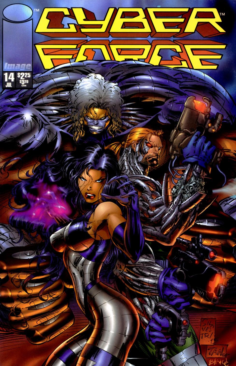 Cyberforce (1993) 14 Page 1