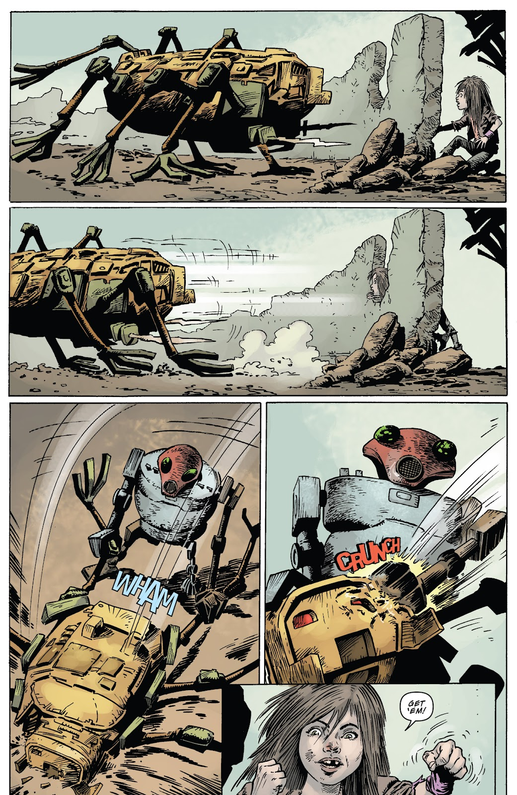Zombies vs Robots (2015) Issue #4 Page 18