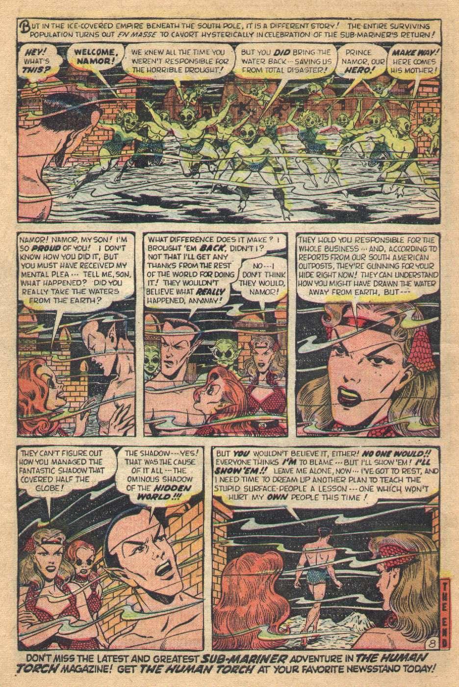 Sub-Mariner Comics #36 #36 - English 10