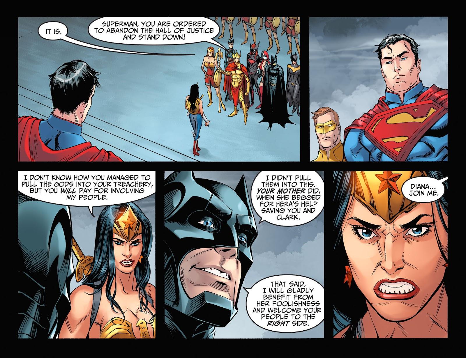 Injustice: Gods Among Us Year Four Issue #7 #8 - English 19