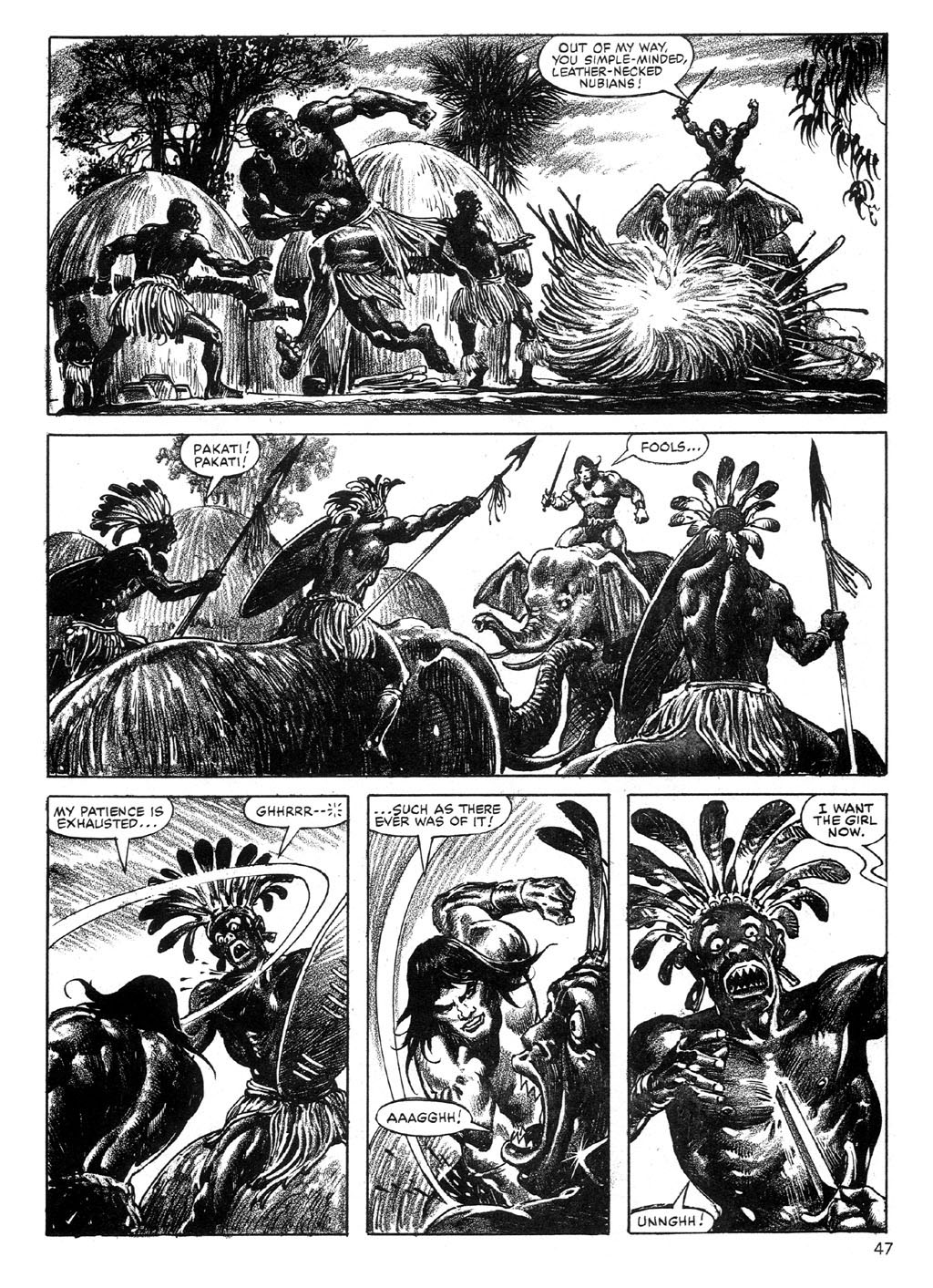 The Savage Sword Of Conan Issue #89 #90 - English 46