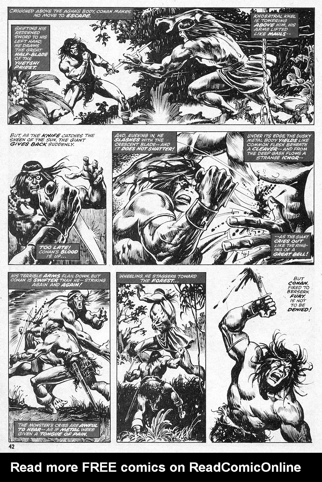 The Savage Sword Of Conan Issue #15 #16 - English 42