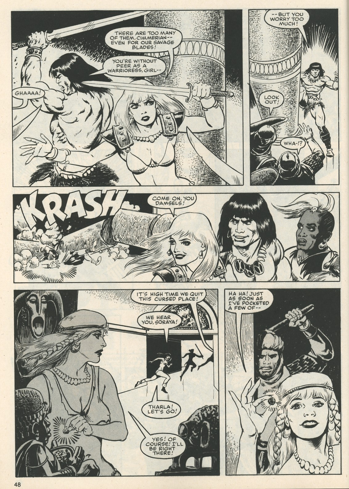 The Savage Sword Of Conan Issue #111 #112 - English 50